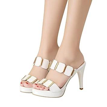 f26cdb852ea2e Zapatos Mujer Sonnena Zapatos De Tacón Mujer Primavera Verano Sandalias  Fiesta Super High Heels Plataforma De Tacón Alto Sandalias De Tacón Grueso  Zapatos ...