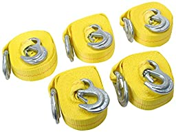 Keeper 89815 15\' Emergency Tow Strap, Box of 5