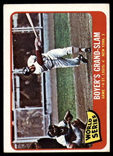 Baseball MLB 1965 Topps #135 World Series Game 4 Boyer's Grand-Slam VG/EX Very Good/Excellent