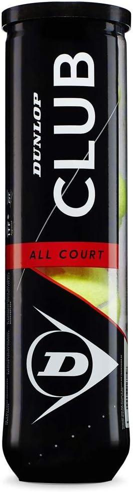 Dunlop 601335 Pelota de Tenis, Unisex-Adult, Multicolor, Talla Única