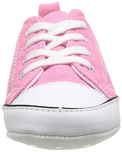 Converse CT First Star Toile, Botines de lona Bebé Rosa (Pink)