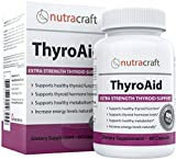 Thyroid Support Supplement - 100% MONEY BACK GUARANTEE & FREE SHIPPING - Natural Herbal Formula To Improve Thyroid Function With L-Tyrosine, Kelp (Iodine), Ashwaganda (Withania), Selenium, B-12 and Vitamin D to Support a Healthy Metabolism, Reduce Fatigue, Promote Weight Loss and Increase Energy - 60 Capsules