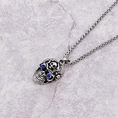 hip-hop-newest-carved-grining-skull-blue-rhinestone-eyes-necklaces-mens-boys-316l-stainless-steel-sk