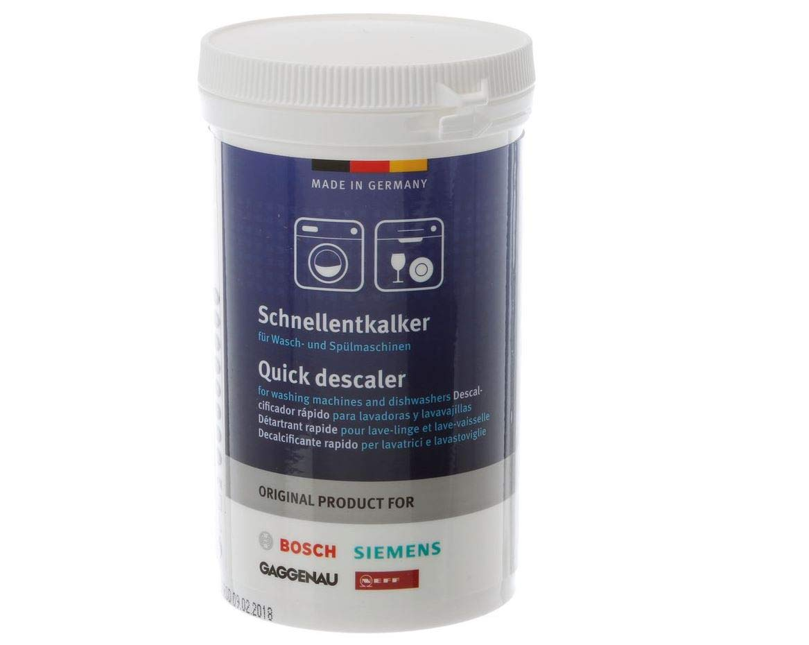 Bosch 00311918 Quick Descaler for Washing Machines and Dishwashers 2-Pack by Bosch