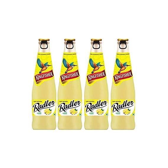 Kingfisher Radler - Non Alcoholic Malt Drink - Lemon,300ml(Buy 3 get 1 Free)