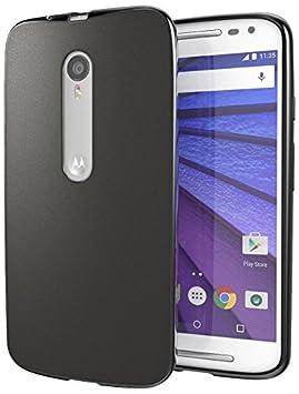 Funda Motorola Moto G (3da Generación), Cimo [Mate] Carcasa de Plástico Fino, Antideslizanteible y Suave para Motorola Moto G G3 (3rd Gen, 2015) - ...