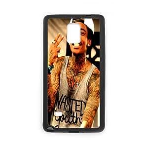 Diy Phone Cover Wiz Khalifa for Samsung Galaxy Note 4 N9100 WEQ089501