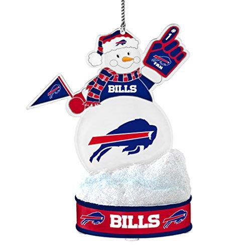 NFL Buffalo Bills LED Snowman Ornament (Buffalo Bills Ornaments)