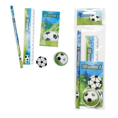 DISOK - Set 5 Pcs Papelería Fútbol De Regalo - Detalles ...