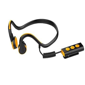 Inteligente Conducción Ósea Auricular Bluetooth Estéreo A Prueba De Agua Colgando A La Espalda Deportes Al Aire Libre Auriculares Inalámbricos del Coche ...