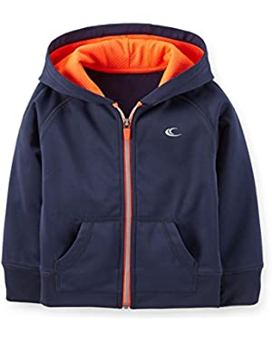 Carter's Boy's Playwear Active Hoodie Navy Blue
