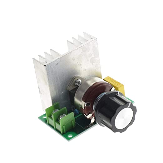 Active Components Electronic Components & Supplies Professional Voltage Regulators 4000w 220v High Power Scr Speed Controller Electronic Voltage Regulator Governor Thermostat Bs