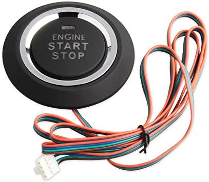 EASYGUARD P2 Replacement Push Start Stop Button for ec002 or es002 or ec110 Series P2 Style, Blue,red