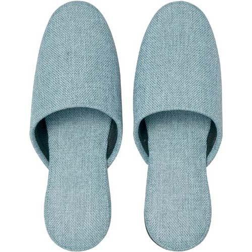 カウネット オリジナル布スリッパ ブルー 30足入 B016Q6YIHW