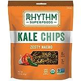 Rhythm Kale Chips - Zesty Nacho, 2.0 oz, Pack of 6