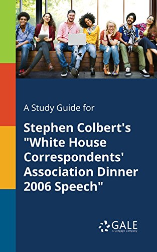 A Study Guide for Stephen Colbert's