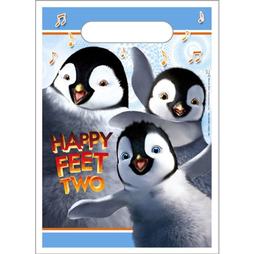 Happy Feet 2 - Treat Bags Party Accessory - Happy Feet 2 Party Supplies