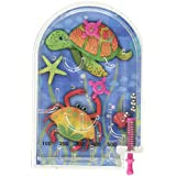 Amscan 390580 Underwater Friends Pinball Games | Party Favor | Pack of 6