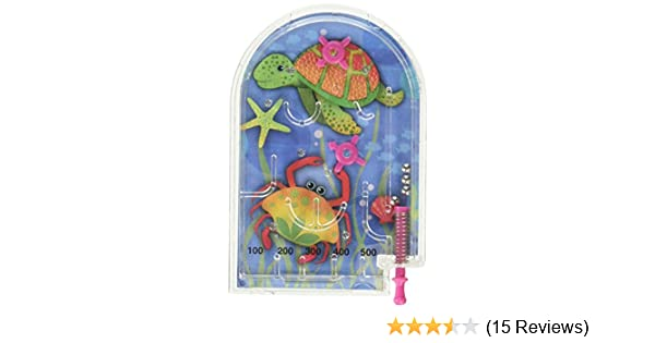Amscan Underwater Friends Pinball Games Party Favor -- Dropship 390580 Pack of 12 TradeMart Inc