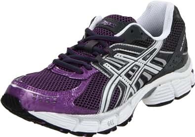 ASICS Women's Gel-Pulse 3 Running Shoe,Storm/White/Plum,10.5 M US