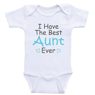 94c5d2431 Amazon.com  Heart Co Designs Aunt Baby Clothes I Have The Best Aunt ...