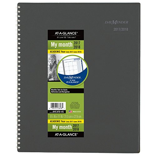 GLANCE Academic Monthly Planner July