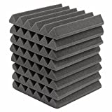 8Pcs 305X305X45Mm Soundproofing Sound-Absorbing Noise Foam