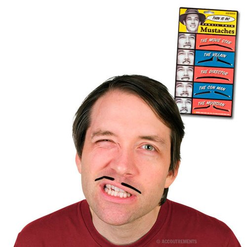 Accoutrements Pencil Thin Mustache