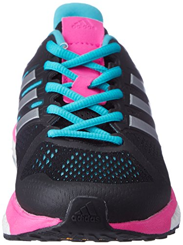 Adidas Supernova St W, Zapatillas para Mujer, Negro (Negbas/Plamet/Rosimp), 41 EU