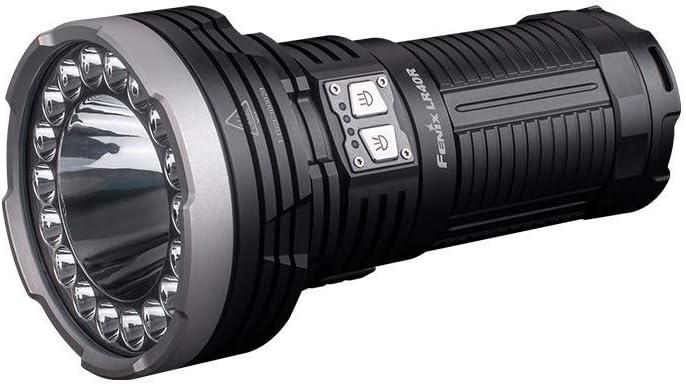 fenix LR40R LR40R-Linterna de búsqueda Recargable de 12000 lúmenes, negro