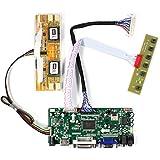 VSDISPLAY HDMI VGA DVI Audio LCD Driver Board For 17'' 19'' M170EG01 LM190E02 1280x1024 4CCFL 40Pin LCD Panel
