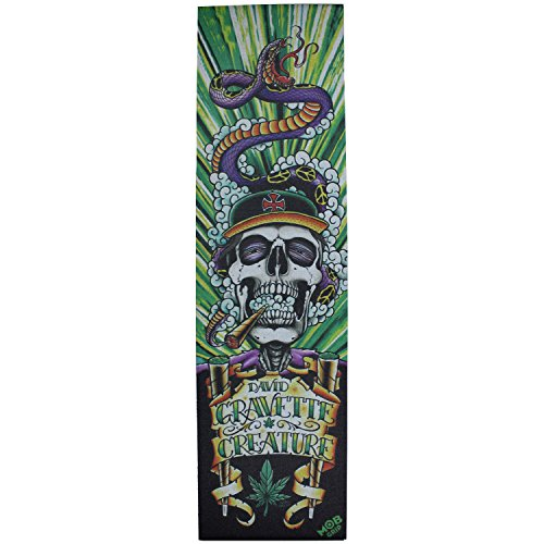 MobスケートボードGriptape Creature Hippy Skull # 4 9