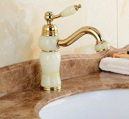 AWXJX Washbasin Hot And Cold Single Hole Single Handle Bathroom Blender Copper Sink Taps by AWXJX Sink faucet
