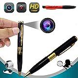 Hidden Spy Camera Pen, OnefunTech 1080P HD Mini Portable Home Security Nanny Pen Camera with Gift Pen