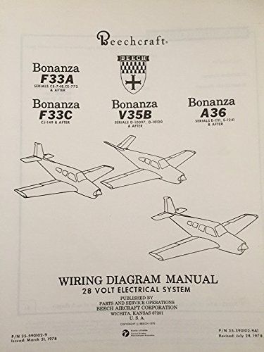 Surprising Beechcraft Bonanza F33A F33C V35B A36 Wiring Diagram Manual Wiring 101 Relewellnesstrialsorg
