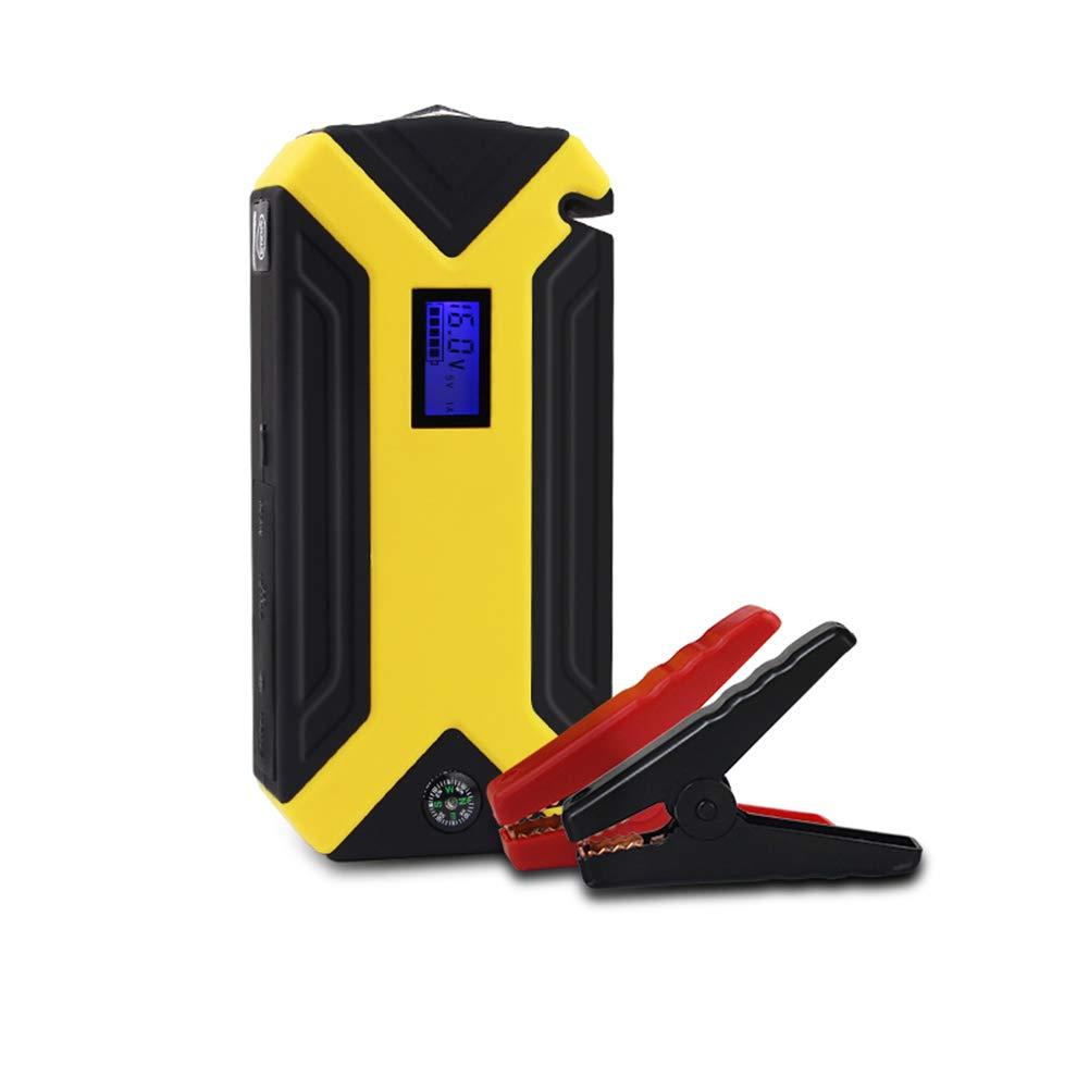 ACCDUER Voiture Jump Starter, démarreur d'urgence de Voiture, Portable Jump Starter Pack Support Complet Tous Les Moteurs de véhicules à gaz, avec Lampe de Poche et Boussole 16800mAh