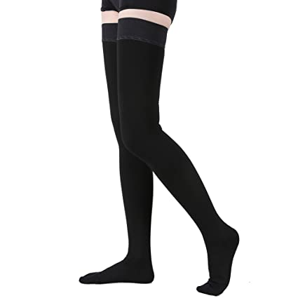 18475a78c Thigh High Compression Stockings