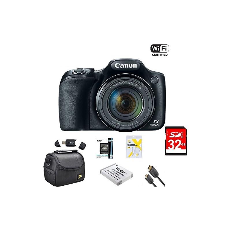 Canon Powershot SX530 HS 16MP Wi-Fi Supe