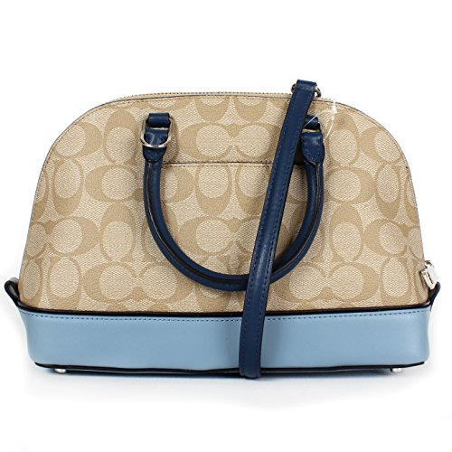 Satchel Mini Handbag Purse Coach Shoulder Sierra Inclined Multi Women��s Shoulder Blue 4pqXHB0T