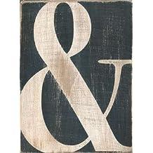 "Ampersand by Alli Rogosich - 15"" x 20"" Giclee Canvas Art Print"