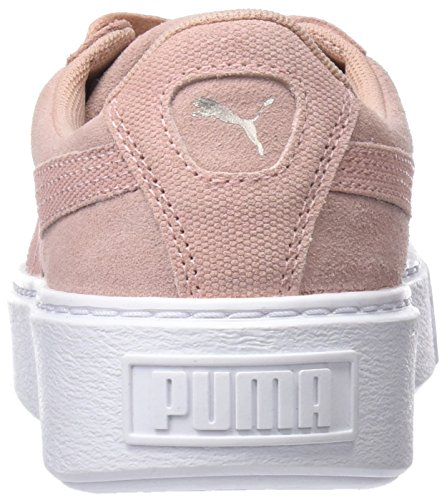Suede Beige Basse peach Scarpe Pebble Wn's Donna Beige White Platform Ginnastica Da puma Puma BqzdB