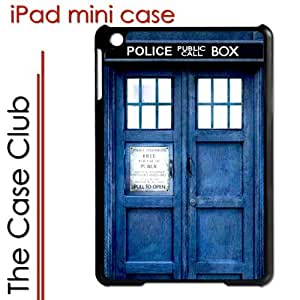 meilinF000iPad Mini Black Protective Hard Case - Dr Who Tardis Phone Booth Blue Call BoxmeilinF000