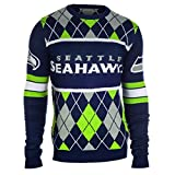 Seattle Seahawks EXCLUSIVE NFL Argyle Sweater Large