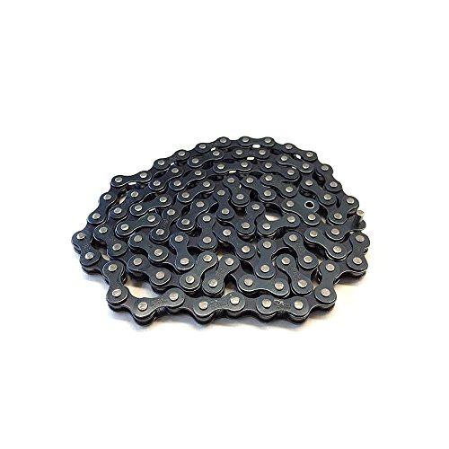 Eastern Bikes Bmx Chain Atom Series Bike Components, (Black Bike Chain)