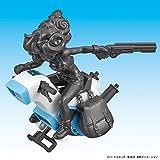 Dragon-Ball-Mecha-Collection-Dragon-Ball-Vol3-Lunchs-One-wheel-Motorcycle-Plastic-Model-KitJapan-Import