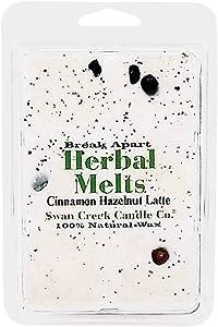 Swan Creek Candle Soy Drizzle Melt 4.75 Oz. - Cinnamon Hazelnut Latte