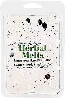 product image for Swan Creek Candle Soy Drizzle Melt 4.75 Oz. - Cinnamon Hazelnut Latte