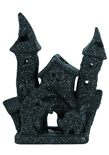Ciao 30525 Halloween Ceramic Glitter Candle Holder 18 cm]()