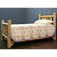Lakeland Mills 307703-OG-92961-O-415545 Rustic Appeal Low Bed King, Unfinished