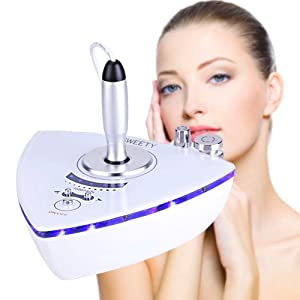 Facial Machine, MYSWEETY Home Use Portable Beauty Machine for Face and Eyes Facial Skin Care